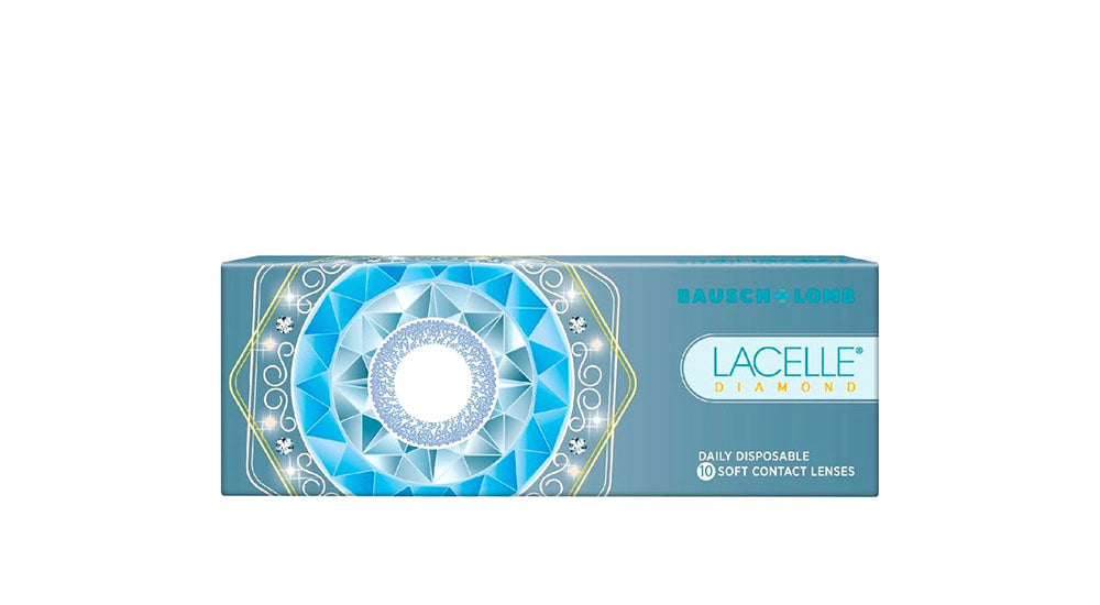 2 Boxes of Bausch & Lomb Lacelle Diamond Color Daily Contact Lens (10 lenses/box)