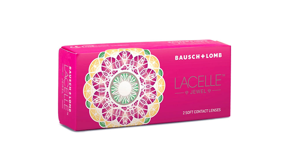 2 Boxes of Bausch & Lomb Lacelle Jewels Contact lens