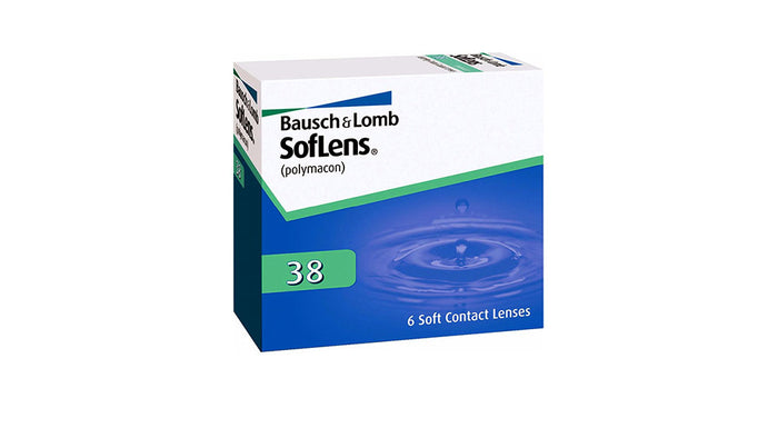 Bausch & Lomb Soflens 38 Contact lens
