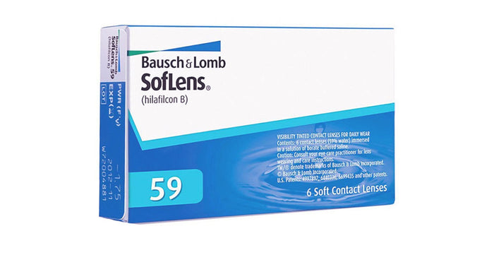 Bausch & Lomb Soflens 59 Contact lens