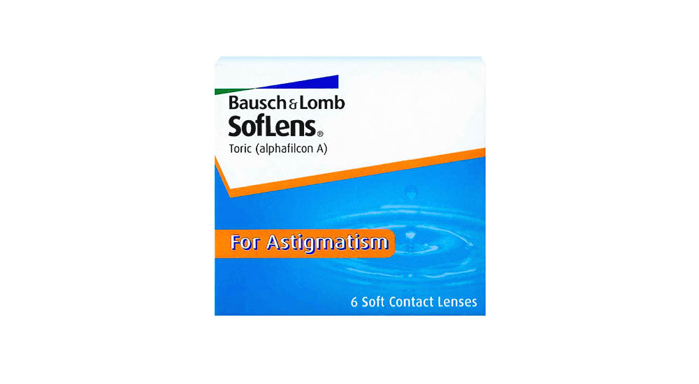 2 Boxes of Bausch & Lomb Soflens 66 Toric Contact lens