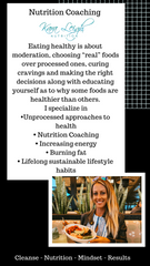 Online Nutrition Coaching (4//8 week options)