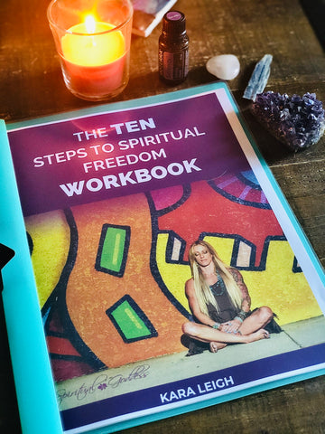 10 Steps to Spiritual Freedom Workbook - Digital Download