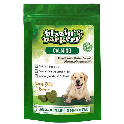 Blazin' Barkery Calming Hemp Dog Treats