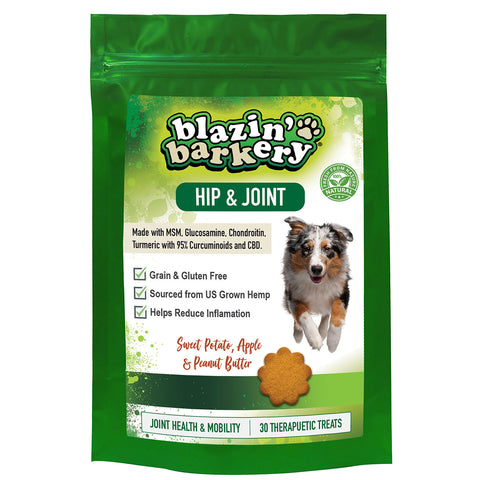 Blazin' Barkery Joint & Hip Hemp Mobility Dog Treats