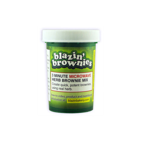 Blazin' Brownies 3 Minute Microwave Mix