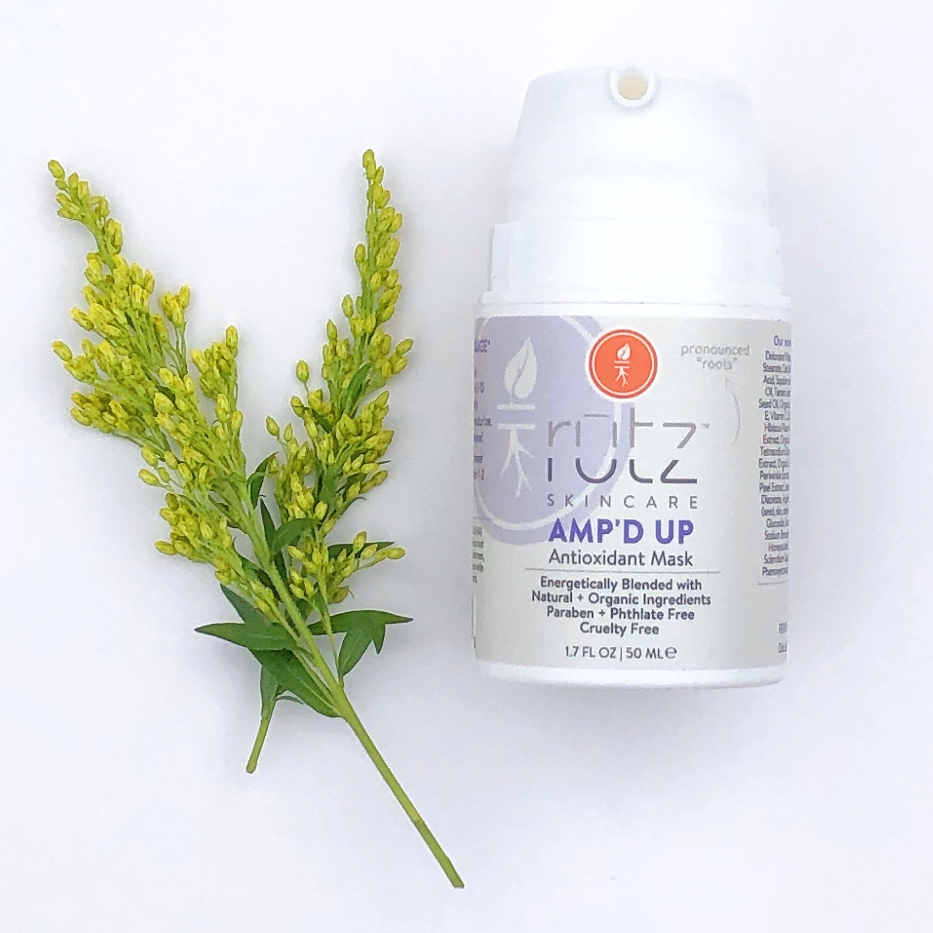 Amp'd Up/Antioxidant Mask by Rutz Naturals