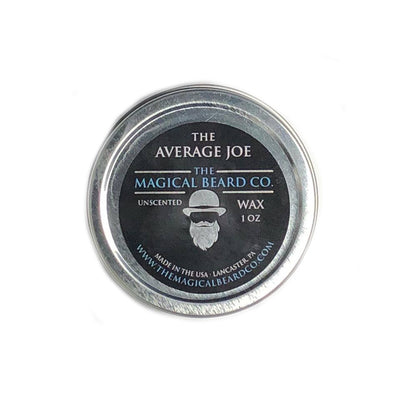 The Average Joe Mustache Wax 1 oz
