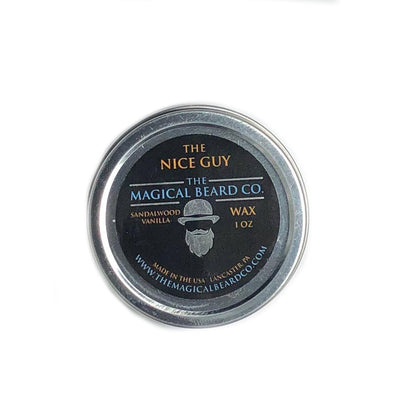 The Nice Guy Mustache Wax 1 oz