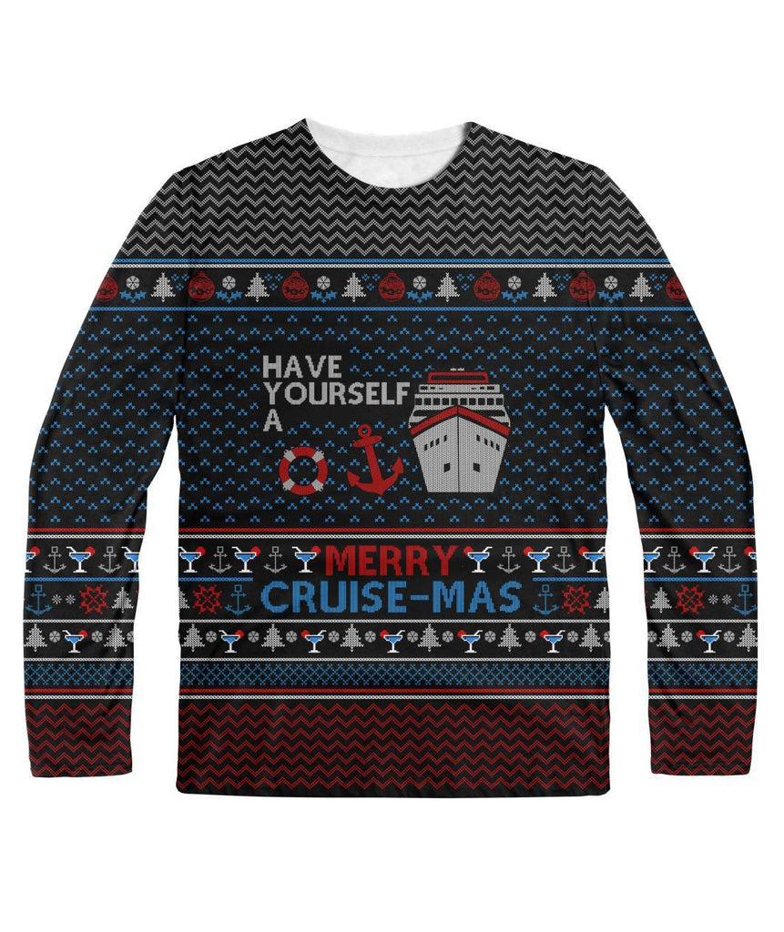 Have Yourself A Merry Cruise Mas Ugly Christmas Sweater Cruise Crazy