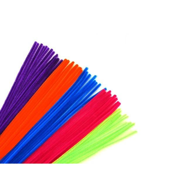"Chenille Stems Pipe Cleaner 12"" Glamour Mix, 40/pk"