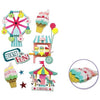 Handmade Sticker Big Icons - Carnival