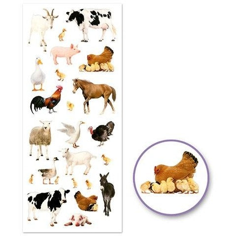 Classic Themes 'Clear' Photo Safe - Farm Animals