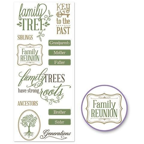 Classic Themes 'Clear' Photo Safe - Family Tree