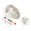 "DIY 9"" Mask Maker with 6 Paints & Brush"