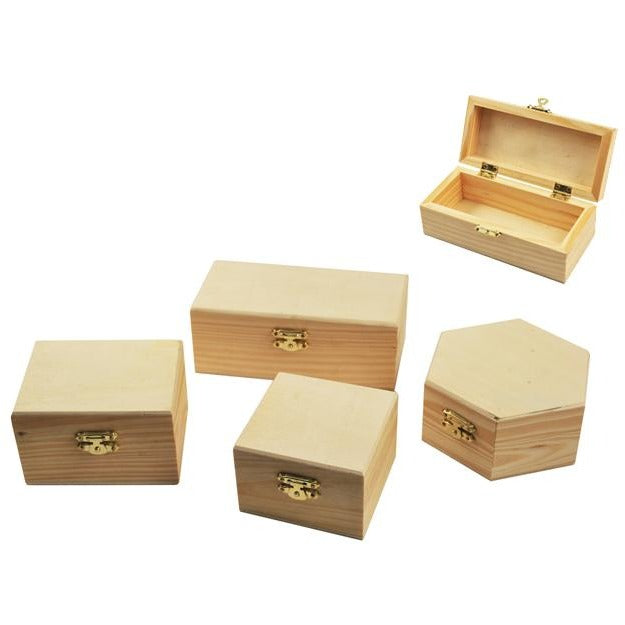 Wood Box with Clasp
