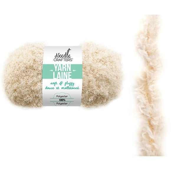 Soft and Fluffy Yarn - Cream, 50g