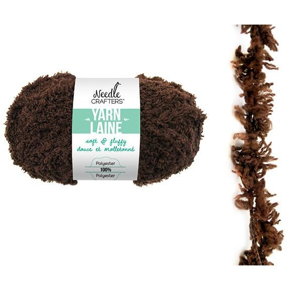 Soft and Fluffy Yarn - Chocolate, 50g