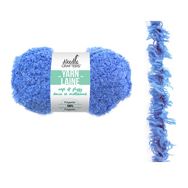 Soft and Fluffy Yarn - Dusty Blue, 50g