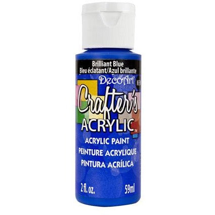 Crafter's Acrylic All-Purpose Paint - Brilliant Blue