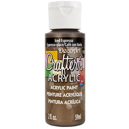 Crafter's Acrylic All-Purpose Paint - Iced Espresso
