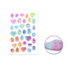 Foil Epoxy Stickers - Gems