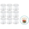 "Craft Storage Cups with Lids 1"" x 1.1"", 9/pk"