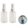 Craft/Travel Pump Pump Spray Bottles with Screw-Top lids 2.6oz (77ml), 2/pk