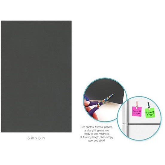 "Self Adhesive Magnet Sheet 5""x8"""