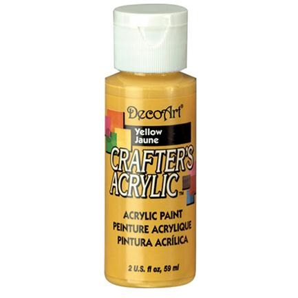 Crafter's Acrylic All-Purpose Paint - Yellow