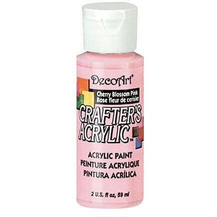 Crafter's Acrylic All-Purpose Paint - Cherry Blossom Pink