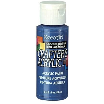 Crafter's Acrylic All-Purpose Paint - Copenhagen Blue