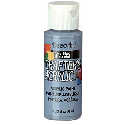 Crafter's Acrylic All-Purpose Paint - Sky Blue