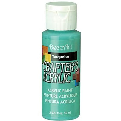 Crafter's Acrylic All-Purpose Paint - Turquoise