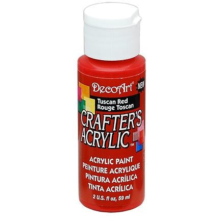 Crafter's Acrylic All-Purpose Paint - Tuscan Red