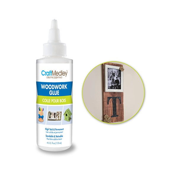 Woodwork Glue High Tack 4oz