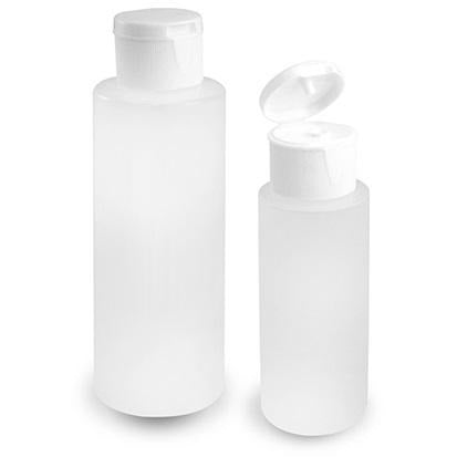 Craft/Travel Bottles with Flip-Top lids 2/pk