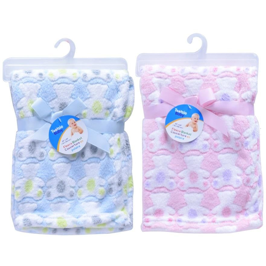 Baby Embossed Fleece Blanket