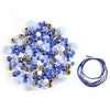 Luxe Bead Kit: 30g Luxe Kit with Spacers & Cording - Blue