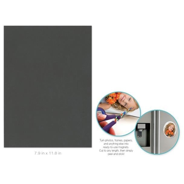 "Self Adhesive Magnet Sheet 7.9""x11.8"""