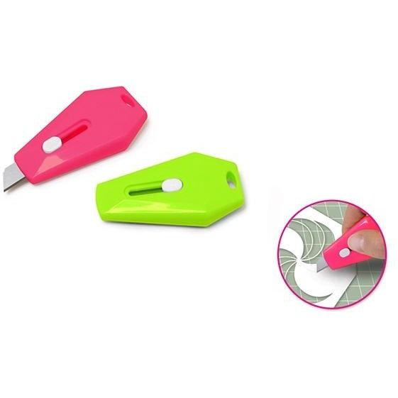 Mini Fashion Cutters Locking Ergonomic 2/pk