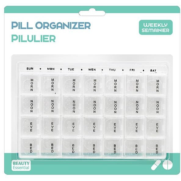 Pill Organizer - 7 Days 4 Times a Day