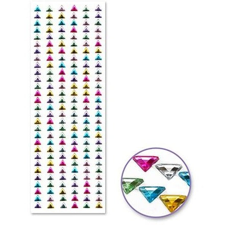 Jewel Borders - Triangle Borders Multi-Mix