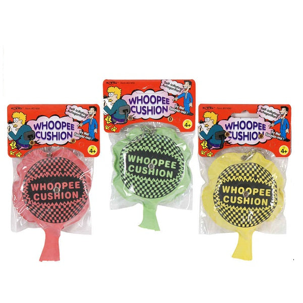 Self-inflate Whoopee Cushion with Ring