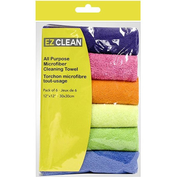 6-pc Microfiber Cleaning Clothes