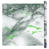 Self-Adhesive Shelf Liner, Marble Green