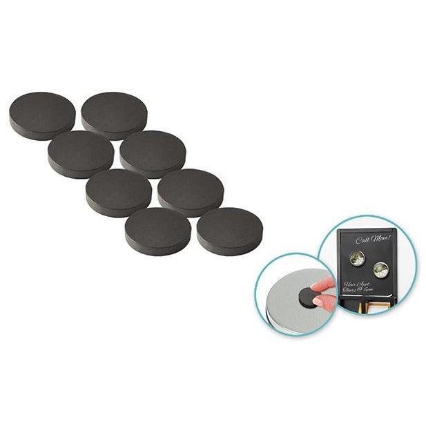 "0.9"" Magnetic Buttons 8/pk"