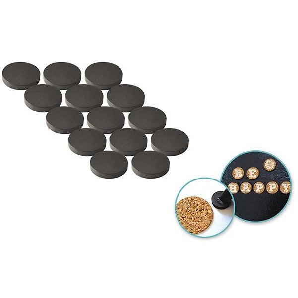 "0.6"" Magnetic Buttons 14/pk"