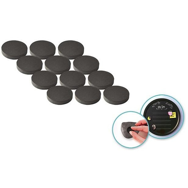 "0.7"" Magnetic Buttons 12/pk"