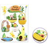 Handmade Sticker Big Icons - Fairy Garden